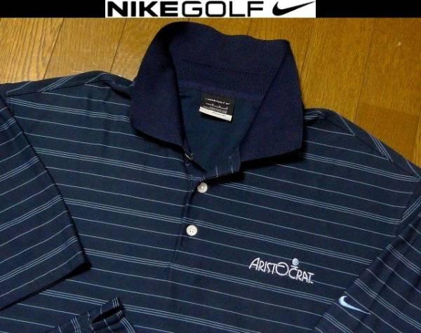 SALE M(US)XL位 超希少 ナイキゴルフ USA限定 特注刺繍 NIKE GOLF 美品 ポロシャツ 日本未発売2L LL O位_画像1