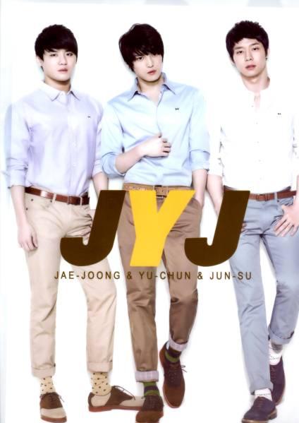JYJ/y4/クリアファイル2枚/入手困難品