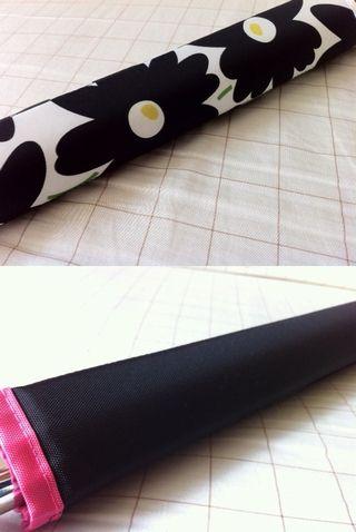 リバーシブルフレームパッド ブラックフラワー×黒×ピンク★HALDOT ハルドット★ピスト・ロード・クロスバイク自転車_画像2