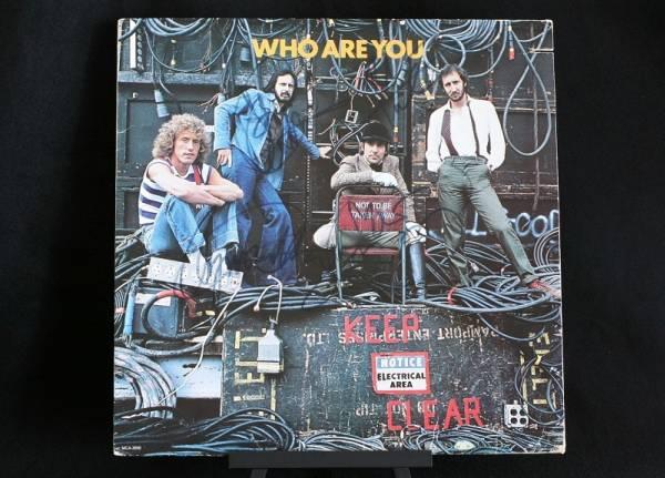 1978年 Who Are You ザ・フー The Who ピート・タウンゼント キース・ムーン ロジャー・ダルトリー John Entwistle 直筆 サイン LP