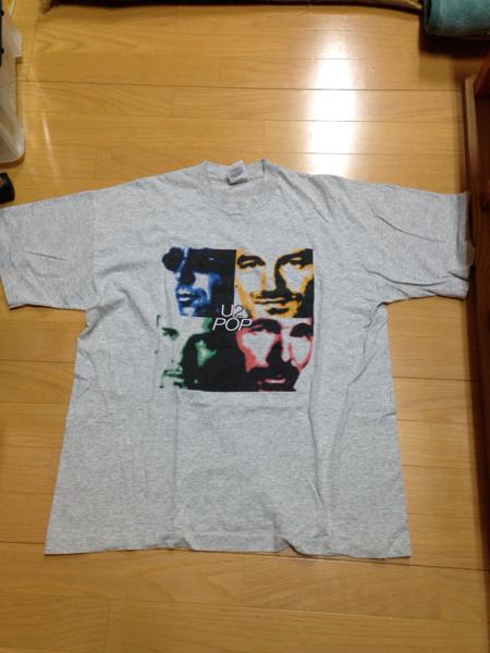 U2 POP 半袖 Tシャツ XL フルーツオブザルーム DM便