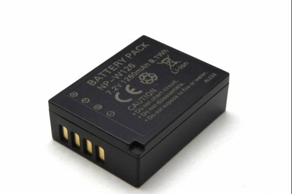 新品即決富士フィルム NP-W126互換バッテリー X-E1/F31fd/X-Pro1_画像1