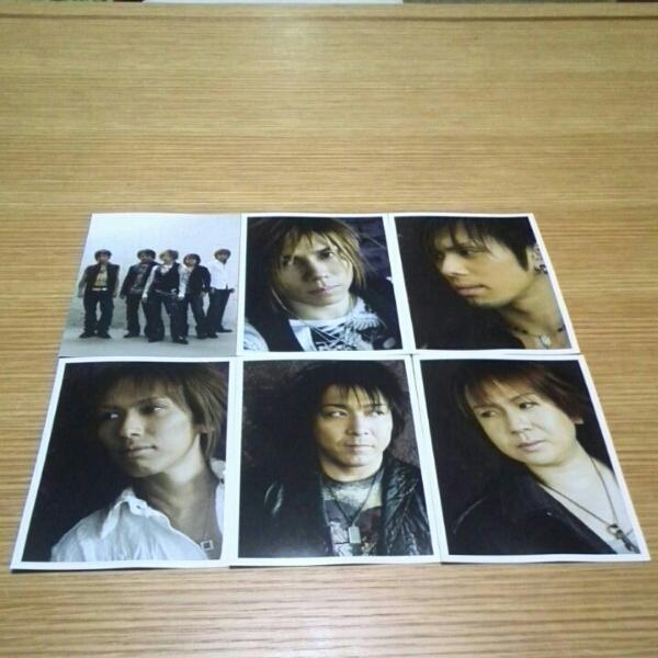 Janne Da Arc「LIVE 2006 DEAD or ALIVE」ポストカードセット!