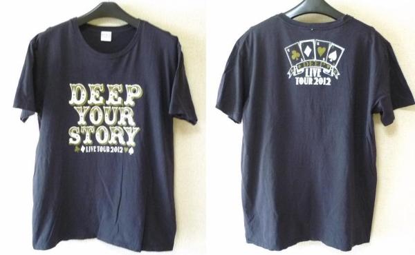 ★即決★【DEEP】2012ツアー TシャツsizeXL