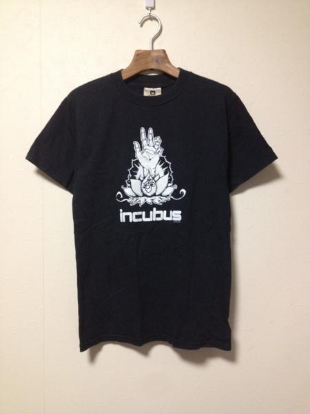 [即決古着]incubus/インキュバス/2000年/バンドTシャツ/黒/S
