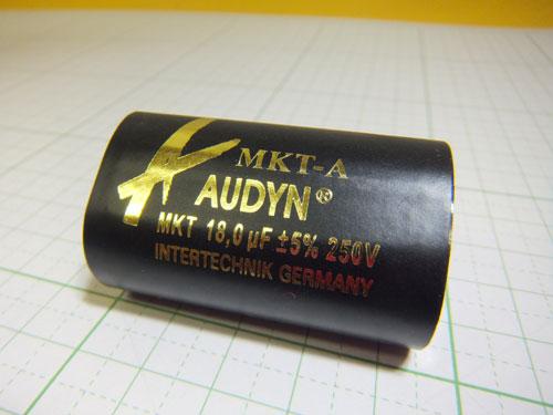 オーディンキャップ MKT-18.0μF/250V フィルムコンデンサー (1個)自作スピーカー_画像3