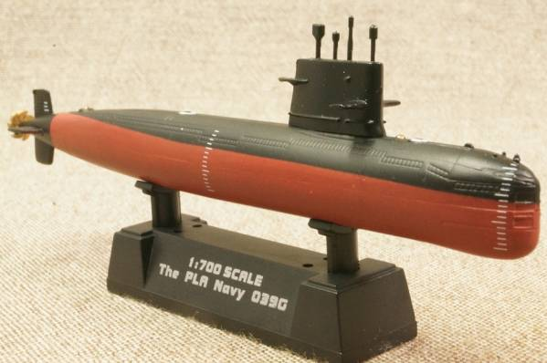 ★EASYMODEL Chinese Navy Type 039A song class submarine 1/700 37326
