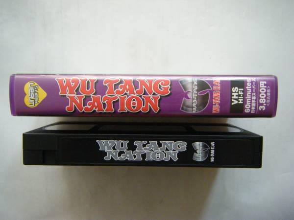 即決中古VHSビデオ WU TANG CLAN / WU TANG NATION 60分・日本語字幕スーパー入り / 詳細は写真4と5をご参照ください_画像3