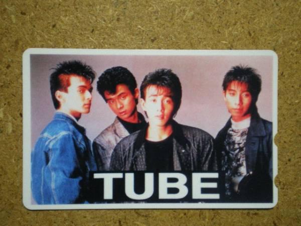 tube・TUBE チューブ 貼テレカ b
