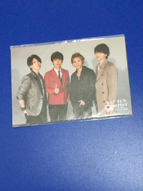 公式写真☆KAT-TUN☆KAT-TUN 9quarter フォトセット 未開封