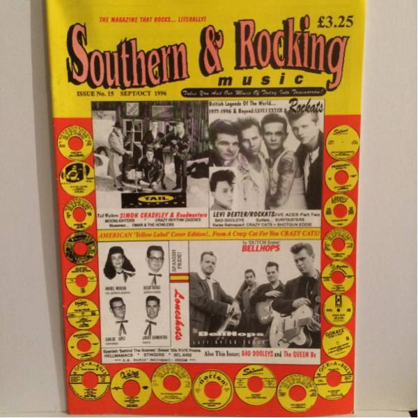 SOUTHERN & ROCKING 1996NO.15 rockabilly
