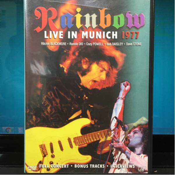 RAINBOW LIVE IN MUNICH 1977 DVD レインボー ライブグッズの画像