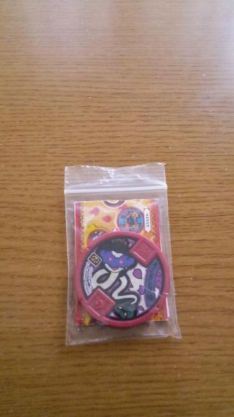 702◆妖怪ウォッチメダル Vol.4◆ろくろ首怪◆QR未登録