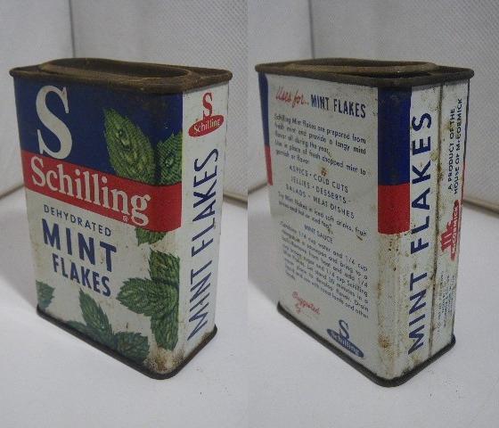 ビンテージ スパイス缶 SCHILLING MINT K953_画像1