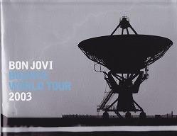 ボン・ジョヴィ 2003バウンス・ワールド・ツアー・パンフレット