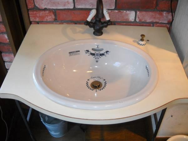 洗面台ユニットドレン天板付き展示品