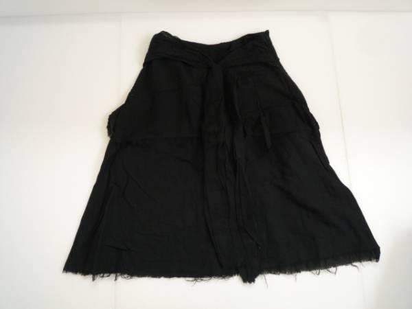 【良品!!】●フーズフー/WHO'S WHO● フレアスカート 黒色 7分丈
