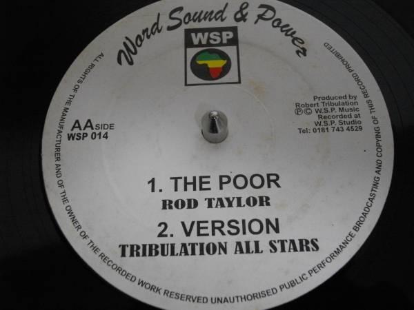 Rod tayler [be no slave] 12inch オリジナル new roots EX reggae レゲエ vintage ビンテージ ルーツ digital デジタル UK org テイラー_画像2