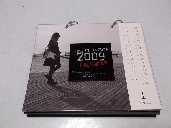 ◯吉井和哉【 2009 卓上 カレンダー 】元イエローモンキー