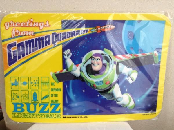 トイストーリー TOYSTORY ランチョンマット バズ 2枚セット ディズニーグッズの画像