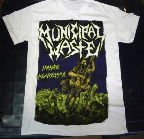 即決!MUNICIPALWASTE Tシャツ Lサイズ 新品【送料164円】