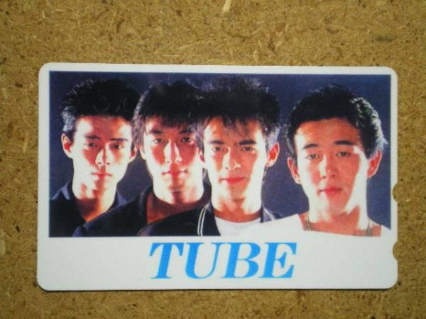 tube・TUBE チューブ 貼テレカ a