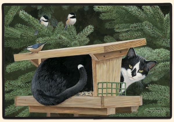 ●在庫整理価格 猫柄 にゃん柄 ドアマット ネコ柄 ニャン柄 ねこ柄●_画像1