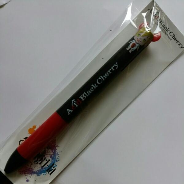 Acid Black Cherry 2014アリーナツアー 2色ボールペン 黒 ライブグッズの画像