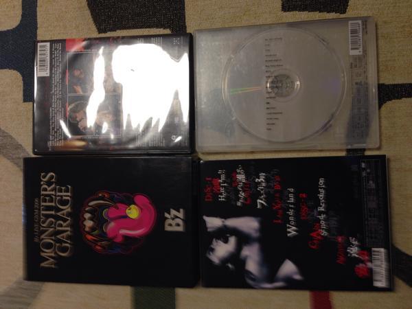B'z 稲葉浩志DVD6枚セット+ボンジョヴィDVD ライブグッズの画像