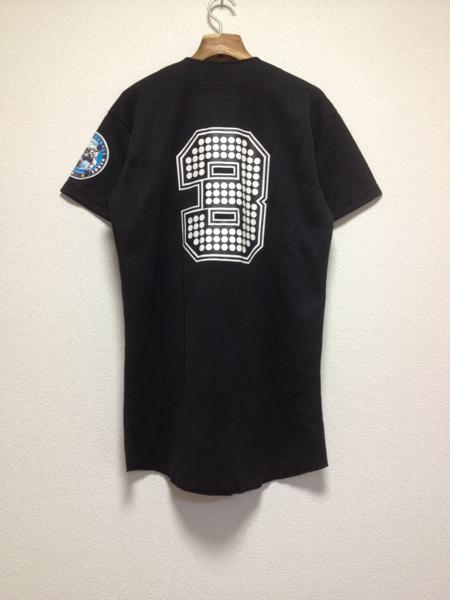 [即決古着]BASEBALL HEROES 3/ベースボールヒーローズ3/KONAMI/コナミ/ベースボールシャツ/半袖/ロゴ/黒/ブラック_画像2