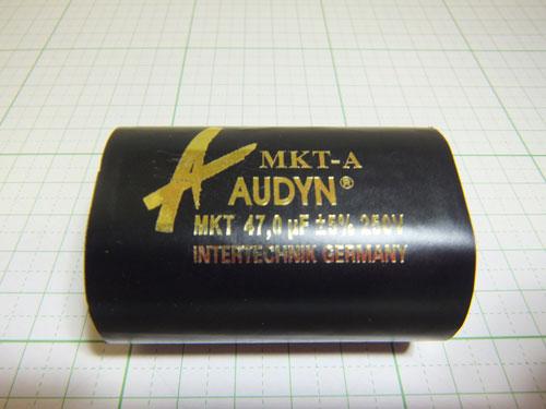オーディンキャップ MKT-47.0μF/250V フィルムコンデンサー (1個)自作スピーカー_画像3