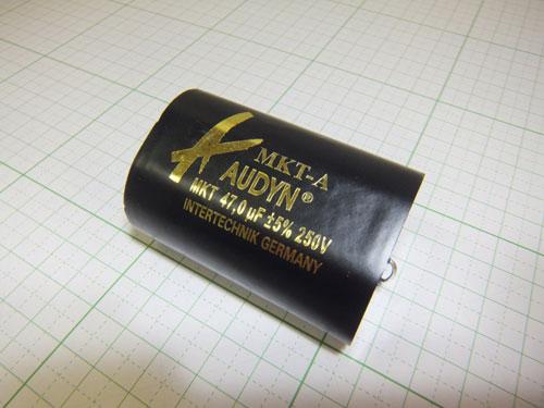 オーディンキャップ MKT-47.0μF/250V フィルムコンデンサー (1個)自作スピーカー_画像2
