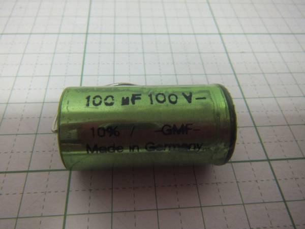オーディンキャップ BC-100μF/100V 無極性電解コンデンサー  1個 クロネコDM便_画像1