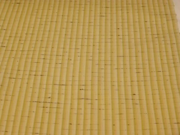 新品正絹反物★山形県米沢・中村工房ぜんまい紬着尺★縞柄です_画像2