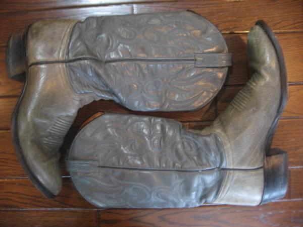 CHISHOLM チザム ウエスタン ブーツ 9.5D カウボーイ ロカビリー_作りも良いです!