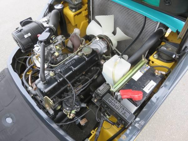 コマツフォークリフト/FG14LC-18/ロードスタビライザー/低稼働車_画像3