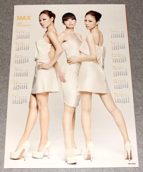 Я1 2016カレンダーポスター MAX [MAXIMUM PERFECT BEST]