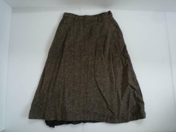 【お買い得!】 ● CHILD WOMAN ● フレアスカート 7分丈 茶色系