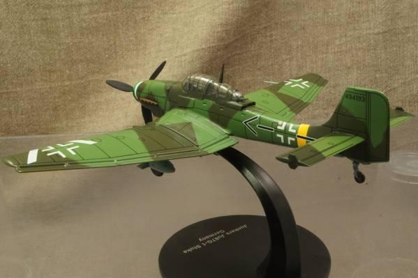 ★ドイツ爆撃機 ユンカース Ju 87G-1 スツーカ 1/72 113001 ALTAYA_画像3