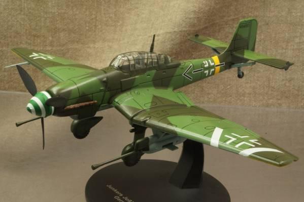 ★ドイツ爆撃機 ユンカース Ju 87G-1 スツーカ 1/72 113001 ALTAYA_画像1