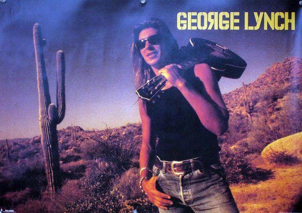 GEORGE LYNCH ジョージ・リンチ B2ポスター (L22009)