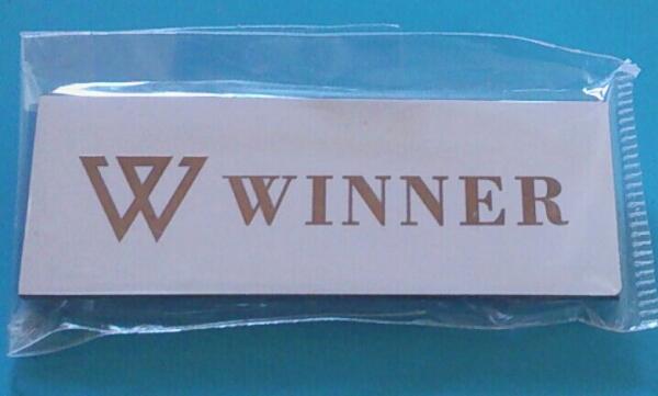 WINNER ネームプレート 名札 ネームタグ 白 ウィナー ラス1