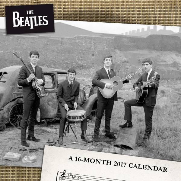 ★送料無料★ ビートルズ ★ 2017 カレンダー ★ 新品未開封 ★2 ライブグッズの画像