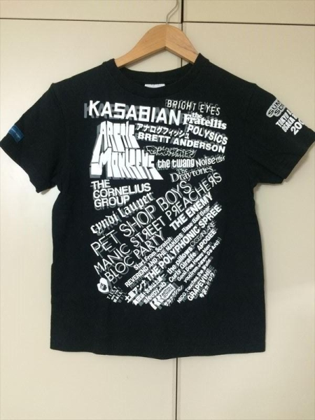 サマソニ Tシャツ 2007 S KASABIAN ARCTIC MONKEYS