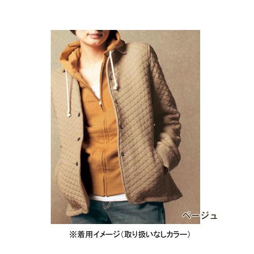 新品タグ付き 千趣会 ベルメゾン うれしい綿素材!キルティングジャケット コート 羽織りもの 紫 パープル 小さいサイズ S 7号 定価3,990円_画像2