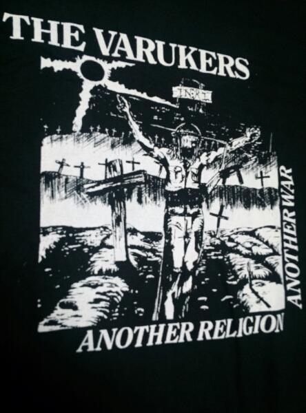 The Varukers Tシャツ 黒M / anti cimex chaos uk doom gloom gism