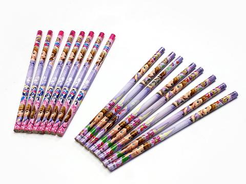 送料込☆ちいさなプリンセスソフィア 2B鉛筆8本セット B 入学