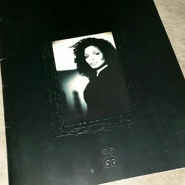 Janet Jackson ジャネット ライブ パンフ