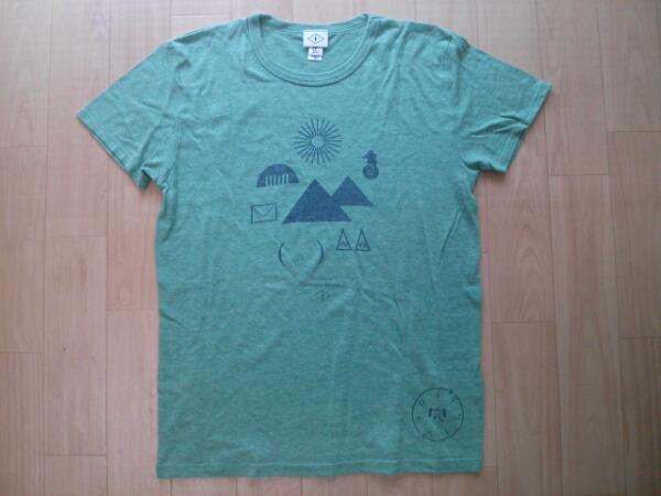 チリヌルヲワカ バンドTシャツ Mサイズ緑色