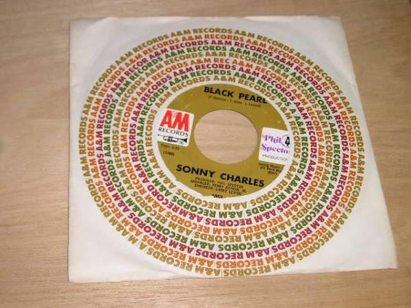 ソニー・チャールス EP/BLACK PEARL US盤A&M~P.スペクターpro_画像1